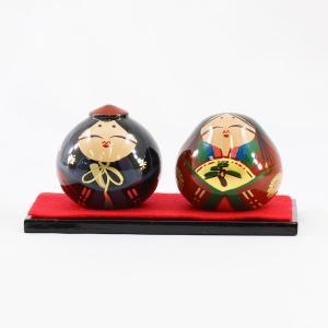 大内人形 15号 桐箱入り OU-TS-15 谷口漆香堂 大内塗り marutomi-a