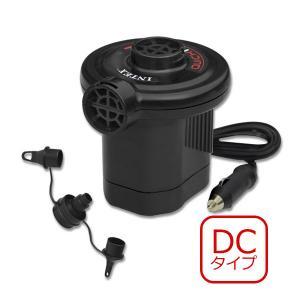 ポンプ 空気入れ DC12V車専用 クイックフル DC電動ポンプ INTEX (インテックス)|marutomi-a
