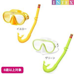 水中眼鏡 アドベンチャースイムセット INTEX (インテックス) marutomi-a