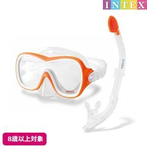 水中眼鏡 ウエーブライダースイムセット INTEX (インテックス) marutomi-a