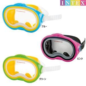 水中眼鏡 シースキャン スイムマスク INTEX (インテックス) marutomi-a
