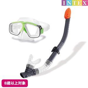 水中眼鏡 サーフライダー スイムセット INTEX (インテックス) marutomi-a