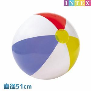 ビーチボール グロッシーパネルボール 51cm INTEX (インテックス) marutomi-a