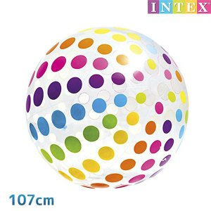 ■商品名:ジャンボボール 107cm ■対象年齢:3歳以上 ■メーカー:INTEX (インテックス)...
