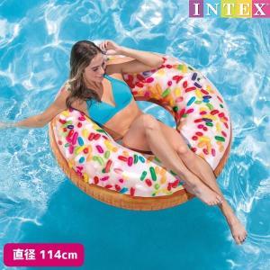 浮き輪 スプリンクルドーナッツチューブ (ドーナツ) 直径114cm INTEX (インテックス)|marutomi-a