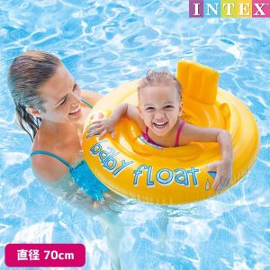 浮き輪 マイベビーフロート 70cm INTEX (インテックス)|marutomi-a