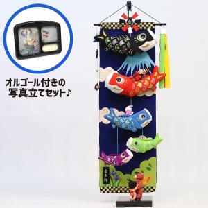 室内こいのぼり 大相撲!金太郎鯉のぼり 大 (スタンド・オルゴール付) つるし飾り こいのぼり|marutomi-a