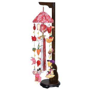 つるし飾り つるし雛 まり飾り 特小 傘付き 吊り台付き...