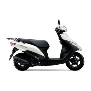 【在庫あり】2020年モデル アドレス125 フラットシート仕様 スズキ SUZUKI 新車 新型 2BJ-DT11A 125ccスクーター 原付 白 パールグレイスフルホワイト|marutomiauto