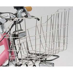 ヤマハ純正 PAS VIENTA用フロントバスケット B4サイズのビジネスバックがピッタリ収まる形状 marutomiauto