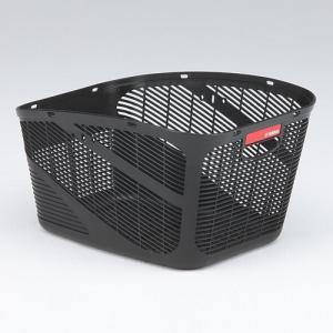 ヤマハ PAS対応 フロント・リヤ共用バスケット 樹脂製 ブラック  Kissminiunなど Q1H-OGG-Y04-001|marutomiauto