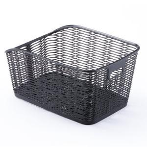 ヤマハ PAS対応 さざなみリヤバスケット ブラック Q5KOGG208453|marutomiauto