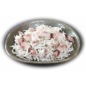 季節限定 イカ入りしらす 500g (250g×2パック)|marutomokaisan