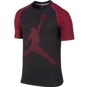 ナイキ ジョーダン ジャンプマン S/S Tシャツ ブラック/レッド|marutosp