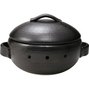 鉄黒 焼きいも器(石付) 31796190 marutti