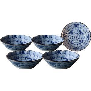 花万葉 煮物鉢5客揃 7-2092|marutti
