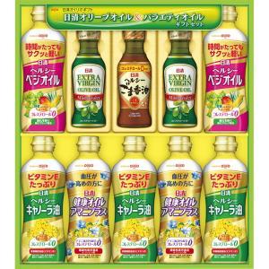お中元 日清オイリオ バラエティオイルギフト OV-50 御中元 送料無料 調味料・味噌汁・海苔|marutti