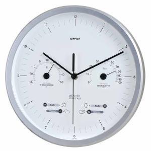 お天気予測・温湿度計付き掛け時計 スーパーEX晴天望機・1台4役 日本製|marutto-markets