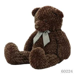 おすわりクマさん ぬいぐるみ ブラウン 100cm marutto-markets