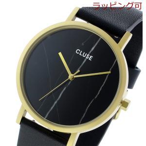 クルース ラロッシュ 大理石モデル 38mm ユニセックス 腕時計 CL40004 ゴールド ブラッ...
