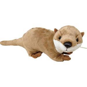 カワウソ ぬいぐるみ Lサイズ ブラウン Otter【かわうそ/かわうそぬいぐるみ/カワウソヌイグル...