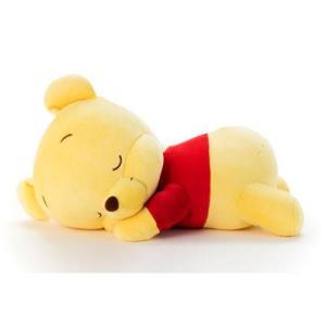 すやすやシリーズ人気No.1!! 寝姿、寝顔がかわいいくまのプーさんのぬいぐるみです。全長約35cm...