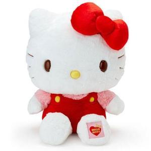 リニューアルして新登場!特大のビッグサイズ!大人気キティちゃんの3Lぬいぐるみです!ふわふわの抱き心...