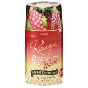 モンデ酒造 プレミアム缶ワイン赤 300ml 山梨県産赤ワイン|maruwine