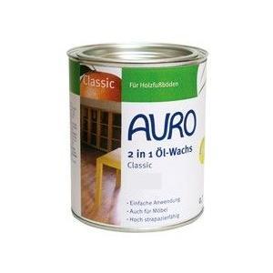 アウロ AURO 自然塗料 NP-0129 油性含浸ワックス 0.75L|maruya-t