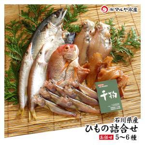 (石川県産)一夜干し/ひもの 6種 詰め合せ:梅|maruya