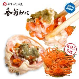 香箱蟹/せいこ (石川県産/冷凍) お試し 訳あり 6匹 詰め合わせ|maruya