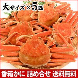カニ漁解禁!(石川県産)茹で 香箱蟹/せいこ:大サイズ×5匹|maruya