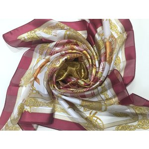 横浜シルクスカーフ シルクスカーフ日本製 シルクスカーフ薄手 四方形スカーフ レディーススカーフ 母の日 プレゼント用 ギフト包装 |maruyama-trade
