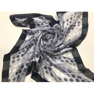 スカーフ春2018 シルクスカーフ日本製 横浜シルクスカーフ スカーフ大判 レディーススカーフ スカーフシルク ギフト包装 2色あり|maruyama-trade