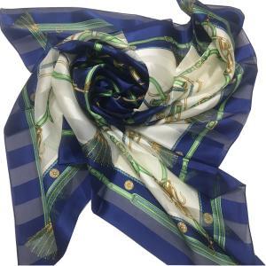 シルクスカーフ日本製 8083 横浜シルクスカーフ 四方形スカーフ レディーススカーフ 母の日 プレゼント用 ギフト包装 欧米デザイン 3色あり|maruyama-trade