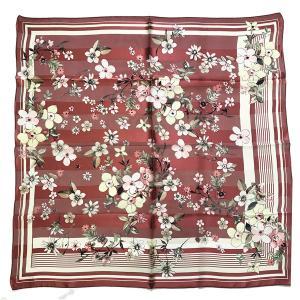 9068横浜シルクスカーフ 四方形スカーフ レディーススカーフ 母の日 プレゼント用 ギフト包装 欧米デザイン 3色あり|maruyama-trade
