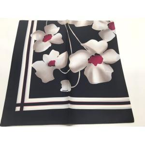 スカーフ春2019 シルクスカーフ日本製 横浜生産シルクスカーフ シルクスカーフ薄手 スカーフシルクスカーフ大判  欧米デザイン 4色あり|maruyama-trade