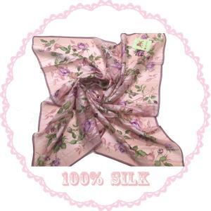 横浜シルクスカーフ 四方形スカーフ レディーススカーフ 母の日 プレゼント用 ギフト包装 2色あり|maruyama-trade