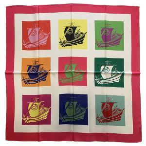 横浜シルクスカーフ シルクスカーフ日本製 四方形スカーフ レディーススカーフ 母の日 プレゼント用 ギフト包装 欧米デザイン|maruyama-trade