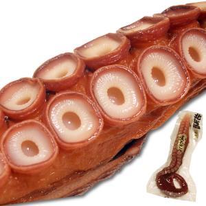たこ足 真タコ 刺身 まるごと1本 約600g 北海道産 ボイル済み 絶妙な塩加減 タコ刺し|maruyuugyogyoubu