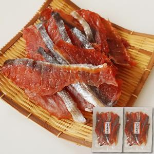 鮭とばチップ 160g ソフトタイプ 脂がのった鮭を食べやすくスライス