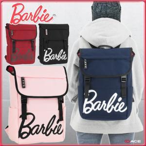 バービー リュック Barbie レベッカ2 スクエア デイパック A4ファイル対応 ACE エース 54475|maruzen-bag