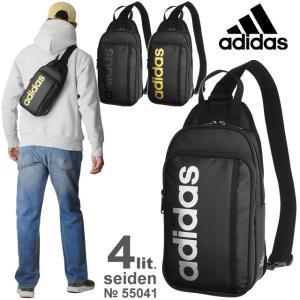 アディダス adidas ワンショルダーバッグ ボディバッグ 全3色 4リットル ザイデン 55041...