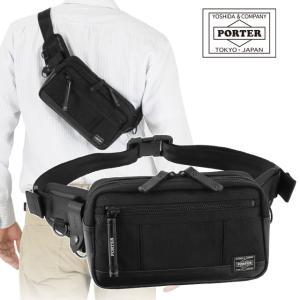 吉田カバン ポーター ヒート ウエストバッグ ボディバッグ ブラック PORTER HEAT 703-07972|maruzen-bag
