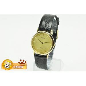 ━【商品説明】━━━━━ セイコードルチェメンズ腕時計です。素材は「18KT」表記のK18YG製とな...