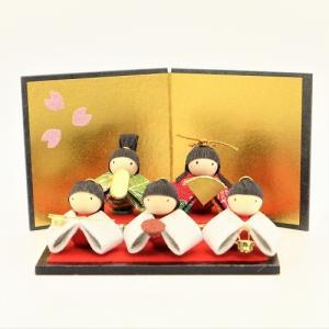 雛人形 コンパクト ちりめん 小さい 手作り/雛あそび/お雛様 ひな祭り ひな人形 人形 飾りミニ ...