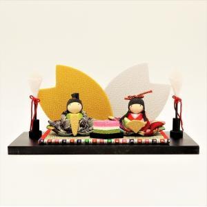 雛人形 コンパクト ちりめん 小さい 手作り/夢見飾り/お雛様 ひな祭り ひな人形 人形 飾りミニ ...