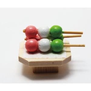 雛人形 コンパクト ちりめん 小さい 手作り/三色団子/お雛様 ひな祭り ひな人形 人形 飾りミニ ...