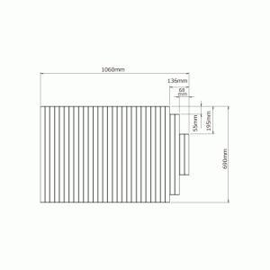 ノーリツ NORITZ 【0CTM111】ふろふた (FB1170GC-W)|mary-b