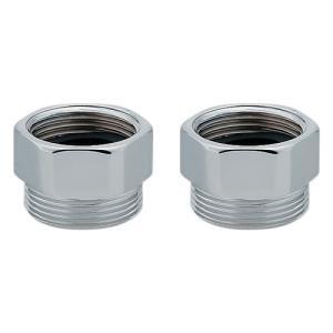水道材料 カクダイ クランク用アダプター(2個入) 100-121 |mary-b